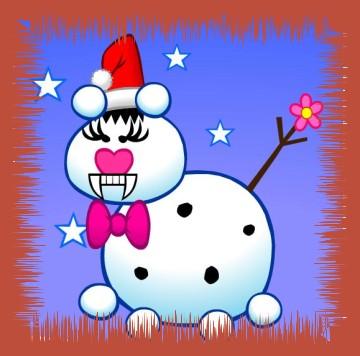 Fellbandes Schneeballkatz!