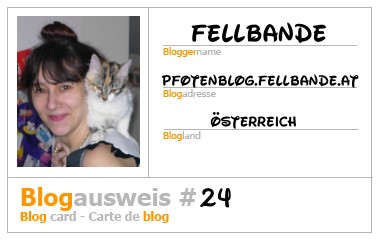 Fellbandes Blogausweis!