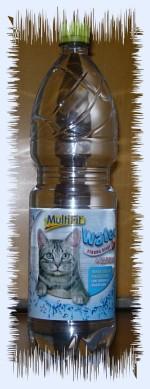 Fellbandes Katzenmineralwasser!