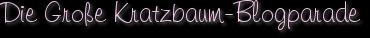 Die Große Kratzbaum-Blogparade
